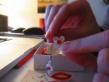 cercei din hartie design de hartiutze atelier paper made